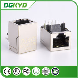 China O Magnetics de KRJ -017NL protegeu o conector do PWB Rj45 com transformador integrado fornecedor