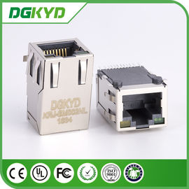 China KRJ - conector protegido metal do PWB RJ45 de SM002NL, conector do smt de CAT5 rj45 distribuidor